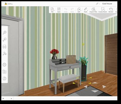 Homestyler floor planner