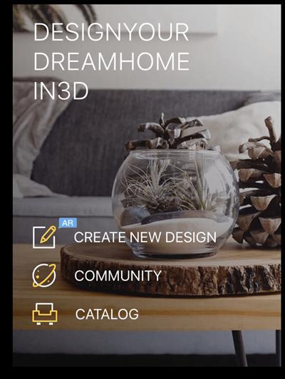 Homestyler home design app